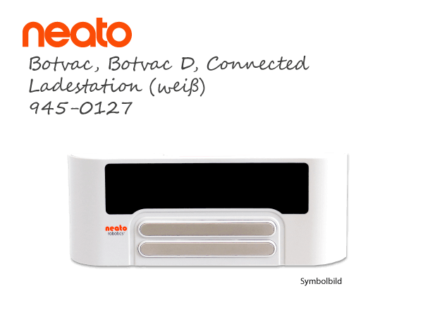 Neato Botvac Connected D Ladestation Dockingstation weiss 945-0127